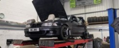 BMW weighted for correct alignment